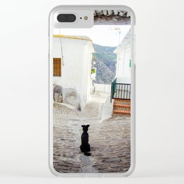 Portrait of a Dog Clear iPhone Case