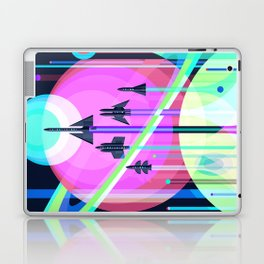The Grand Tour : Vintage Space Poster Cool Laptop & iPad Skin