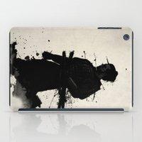 samurai iPad Cases featuring Samurai by Nicklas Gustafsson