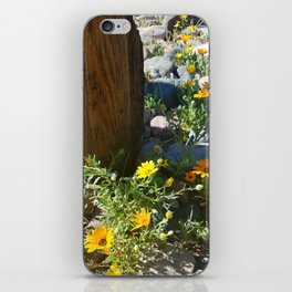 Country Flowers iPhone Skin