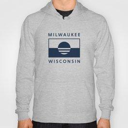 Milwaukee Wisconsin - Navy - People's Flag of Milwaukee Hoody