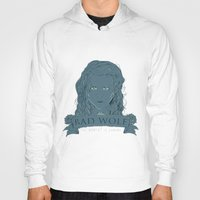 bad wolf Hoodies featuring Bad Wolf by AmdyDesign