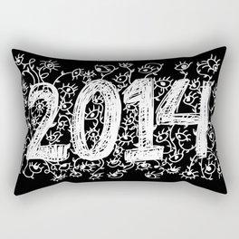 Eye in 2014 Rectangular Pillow