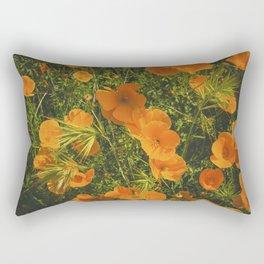 California Poppies 005 Rectangular Pillow