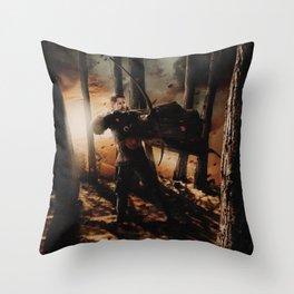 Character Poster Series - Robin Hood Throw Pillow