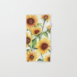 Sunflowers Hand & Bath Towel