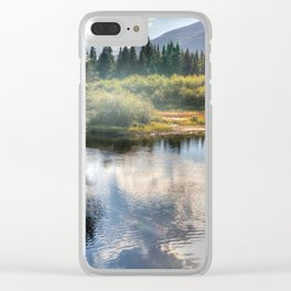 Fall Fly Fishing in Maine Clear iPhone Case