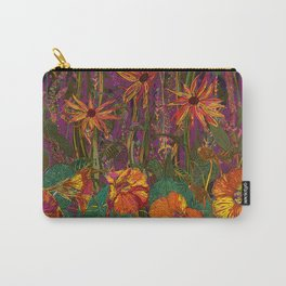 You Can Get By (Autumn Flowers) Carry-All Pouch