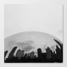The Bean Skyline Canvas Print