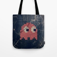 Pac-Man Pink Ghost Tote Bag