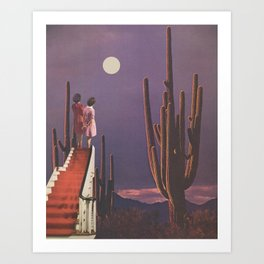Under Desert Skies Art Print