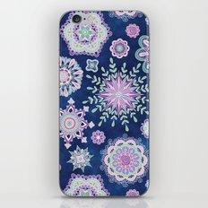 Folky SnowFlowers iPhone & iPod Skin