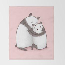 Panda Cuddle Throw Blanket