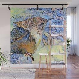 Sing Little Wren Wall Mural