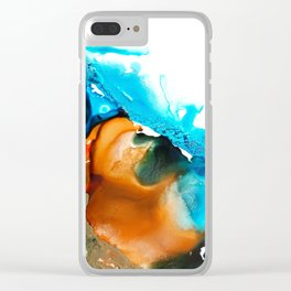 Desert Ocean Clear iPhone Case