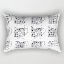 Mug. Rectangular Pillow