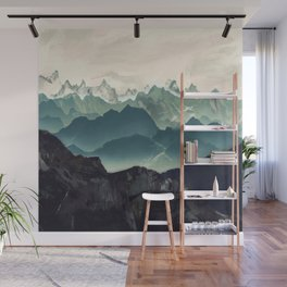 Shades of Mountain Wall Mural