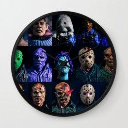 """""""Happy Friday The 13th!!!"""" Wall Clock"""