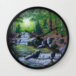 Adirondack Brook Wall Clock