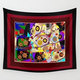 A Steampunk Automaton Gears and Cogs Wall Tapestry