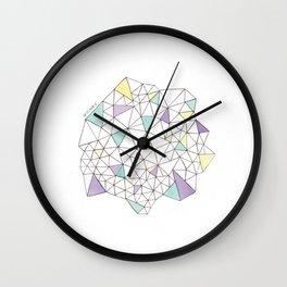 Triangles N2 Wall Clock