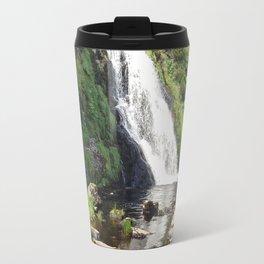 Assaranca Waterfall,Ireland Travel Mug