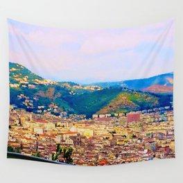 Italian Cityscape Wall Tapestry