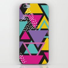 Back To The 80's Pattern iPhone & iPod Skin