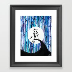 Something in the Air Framed Art Print