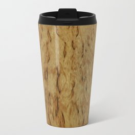 original birch wooden design the nature is awesome Travel Mug
