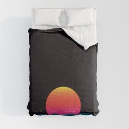 Computer sundown Comforters