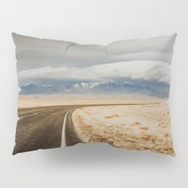 Great Sand Dunes National Park - Road Pillow Sham