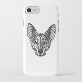 Ornate Australian Kelpie iPhone Case