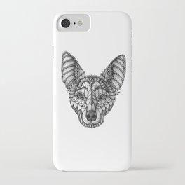 Ornate Australian Kelpie iPhone Case