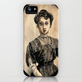 LM Montgumery iPhone Case
