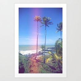 Fragmented Palm Art Print