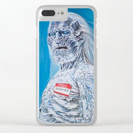 Hello, My Name Is: Winter Clear iPhone Case