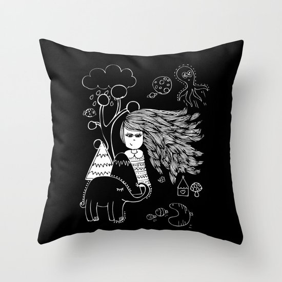 I'm Feeling Weird Throw Pillow