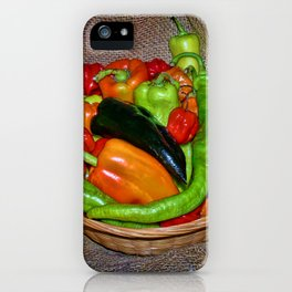 Spicy havest iPhone Case