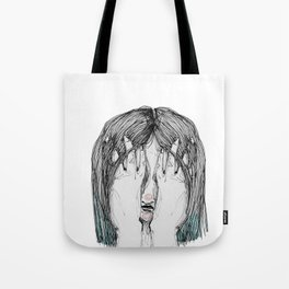 Sometimes I'm sad Tote Bag