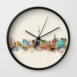Toronto Ontario skyline Wall Clock