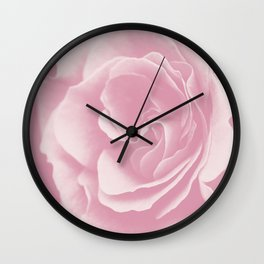 Light Pink Rose #2 #floral #art #society6 Wall Clock