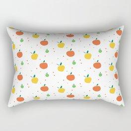 Citrus Fruit Pattern Rectangular Pillow