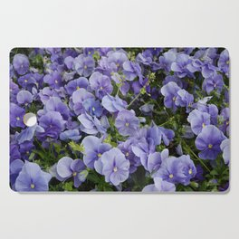 Pansy flower Cutting Board