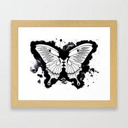 Butterflies in my stomach Framed Art Print