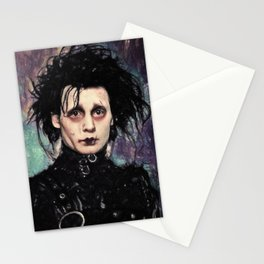Edward Scissorhands Stationery Cards