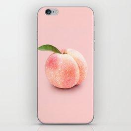 GLITTER PEACH iPhone Skin