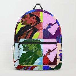 Sherlock Holmes Pop Art Backpack