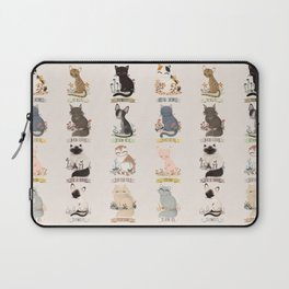 Cats Breed Laptop Sleeve