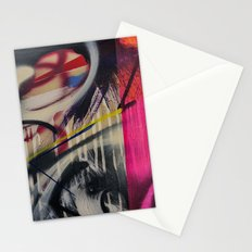 motion blur Stationery Cards